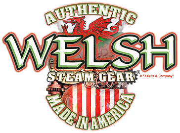 Authentic Welsh Steam-Gear® T-Shirt on Honey Small