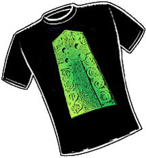 Pictish High Cross. T-Shirt Design