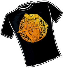 Fairie Harp. T-Shirt Design