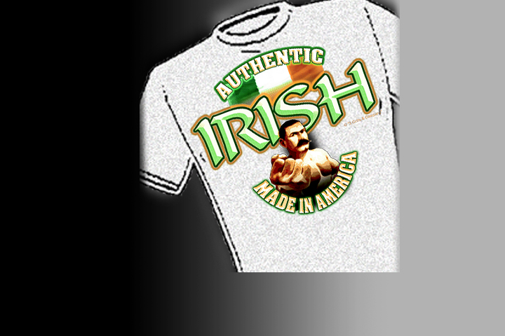 Authentic Irish :: Made in America. Select colors and styles available in your choice of Celtic T-shirts | Celtic Hoodies | Celtic Crew Necks.