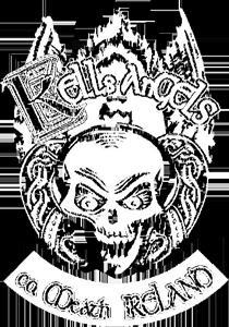 Kells Angels T-Shirt on Black Medium