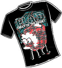 Plaid Sheep  T-Shirt Design