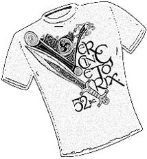 Vercingetorix. T-Shirt Design